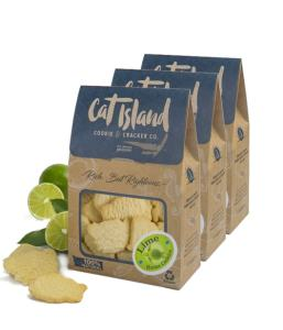 Cat Island Cracker and Cookie Co Lime Butter Cookies