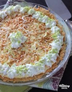 Coconut Lime Ice Box Pie - CookingBride.com