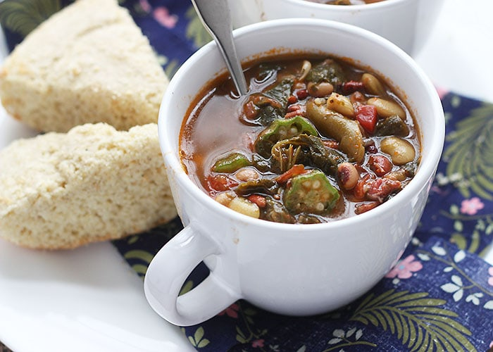 Collard Greens Pot Liquor Soup