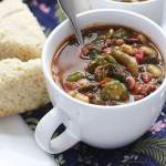 Collard Greens Pot Liquor Soup