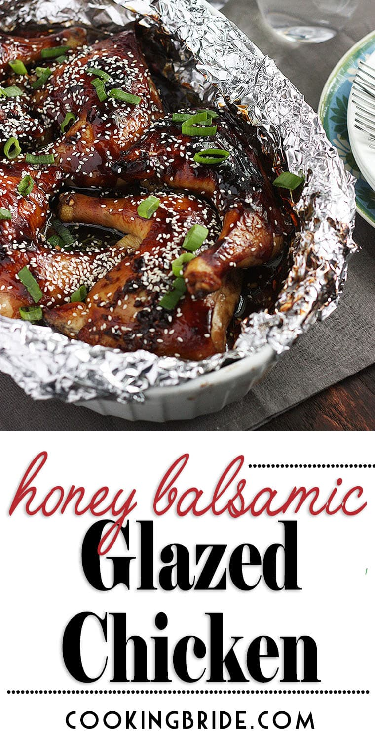 Get out of the chicken rut. Honey Balsamic Glazed Chicken is salty and sweet, crispy and sticky, and ready in 30 minutes.