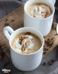 Pumpkin Pie Chai Tea Latte