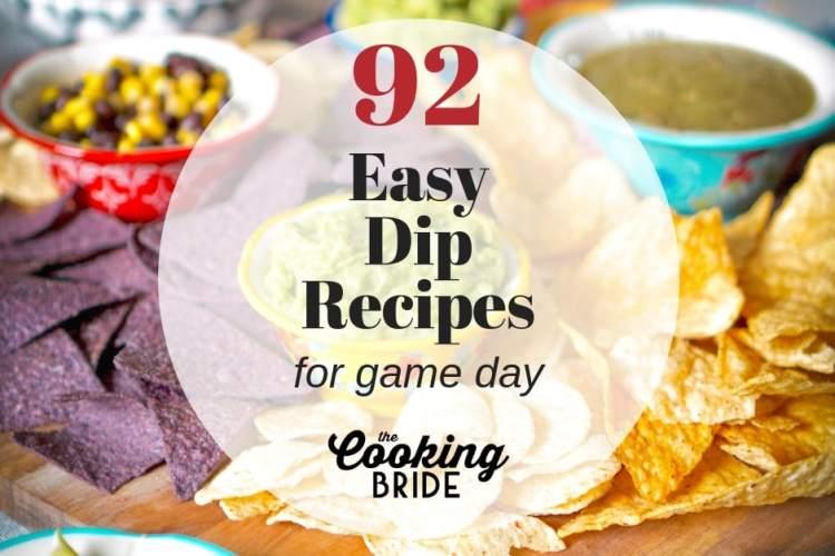 easy dip recipes