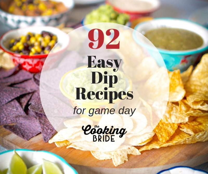 Super Bowl Dip Recipes