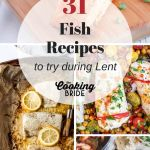 Fish recipes for Lent