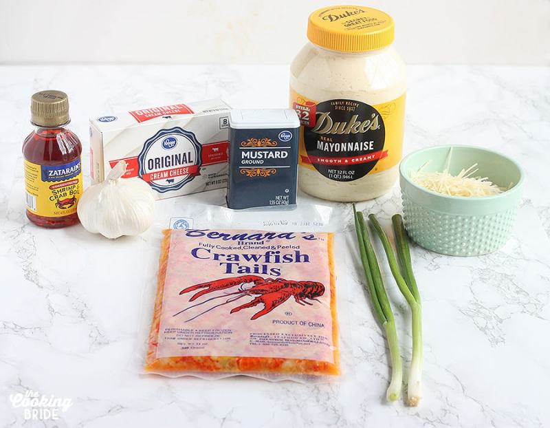 crawfish dip ingredients