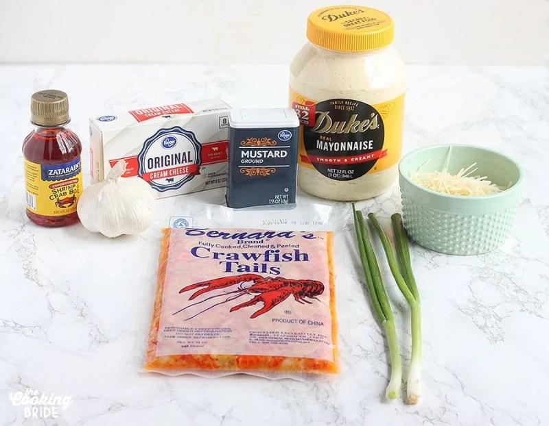crawfish dip ingredients