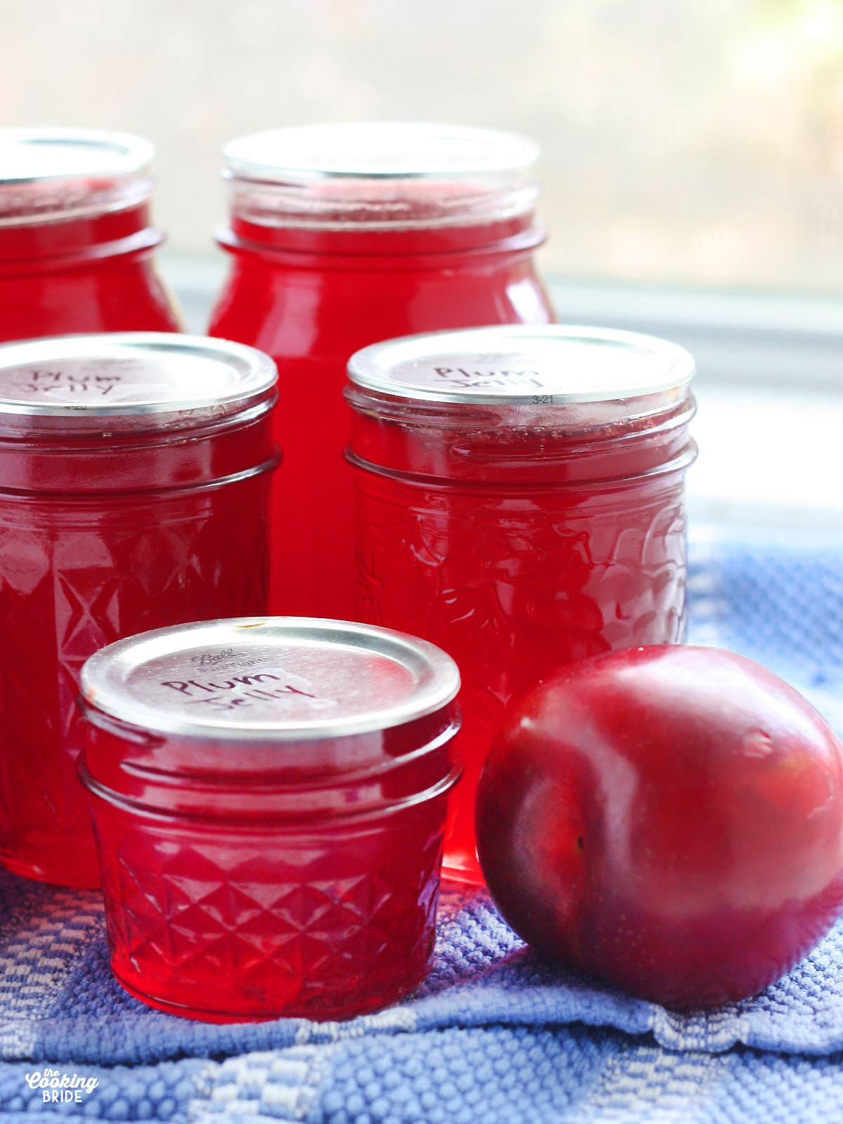 Homemade Plum Jelly The Cooking Bride
