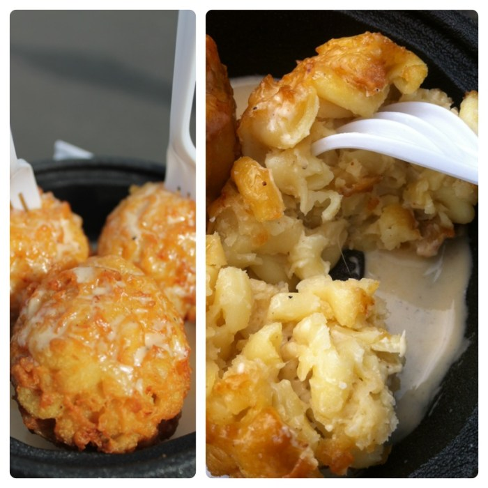 mac n cheese balls