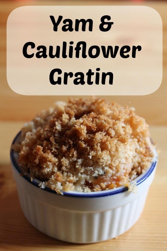yam & cauliflower gratin