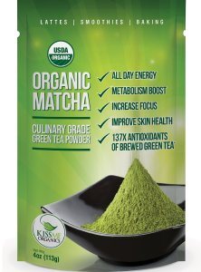 Kiss me organic matcha