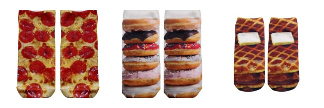 living royal food socks