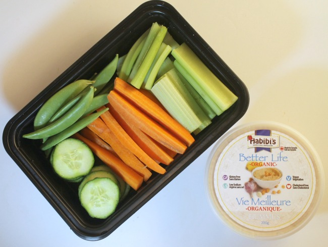 habibis hummus vegetables