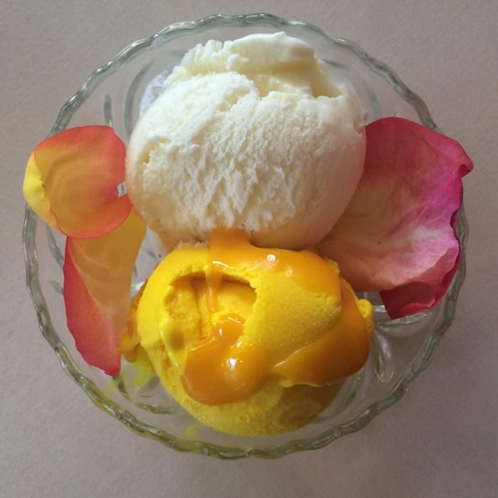 sizzling tandoor ice cream
