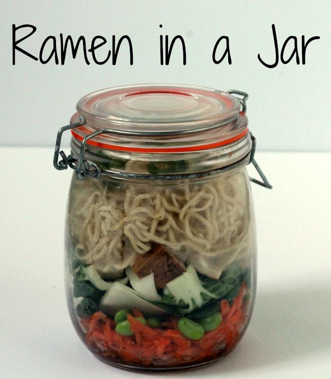 ramen in a jar