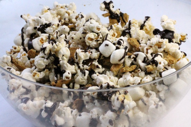 campfire smores popcorn the ultimate movie snack