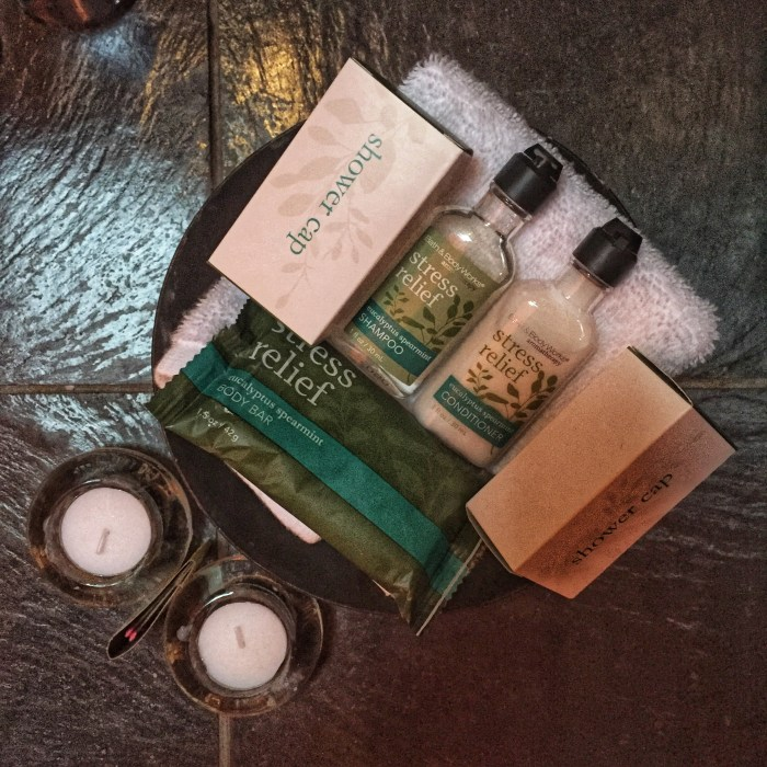 Bath toiletries Rowena's