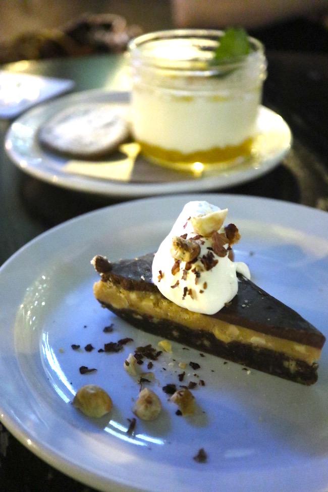 The Blackbird DOVF desserts