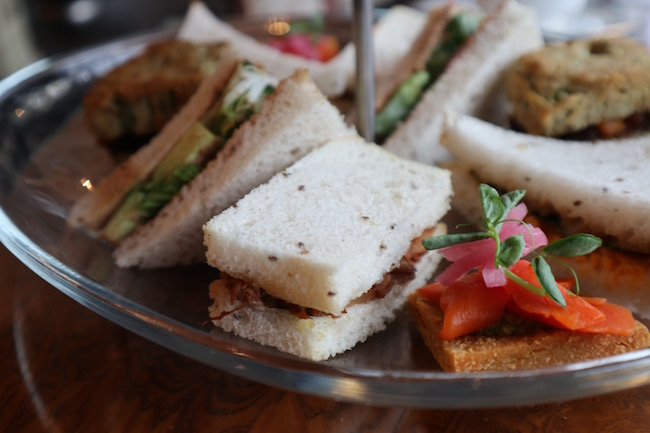 neverland tea salon vegan gluten free tea sandwiches