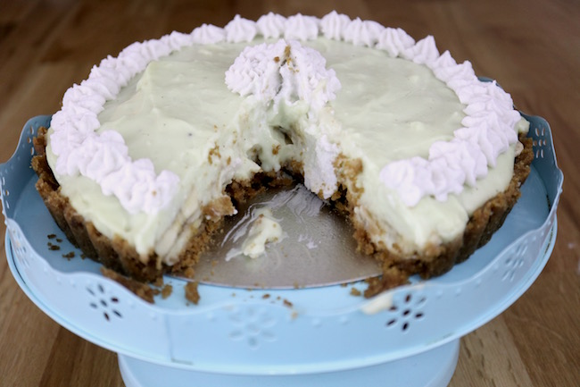 Banana Cream Pie Vegan