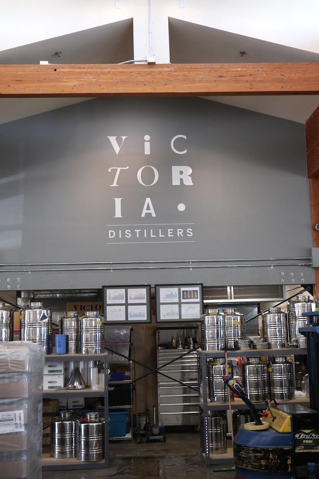 Victoria distillers plant