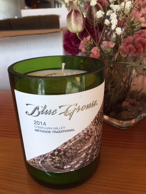 Blue Grouse Wine Candles