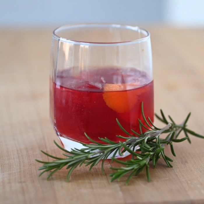 Canadian Christmas Cocktail.