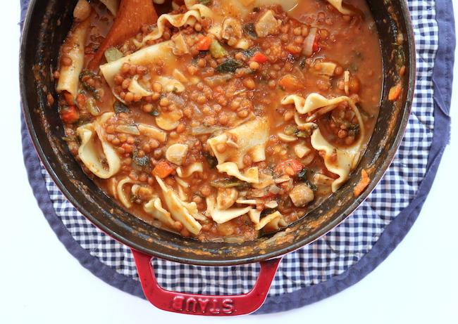 Lasagne Soup LivB Vegan on a budget
