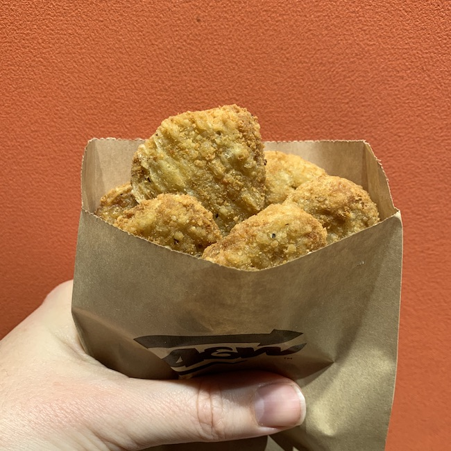 A&W Plant based Chicken nuggets