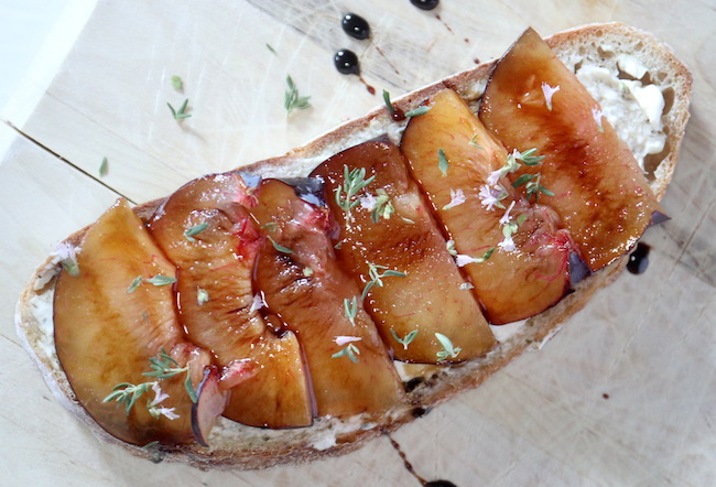 Plum Tartine