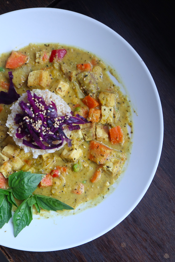 Lemongrass Curry Lotus Seed Vegan