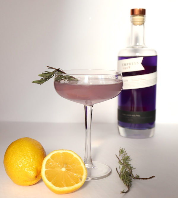Lavender French 75