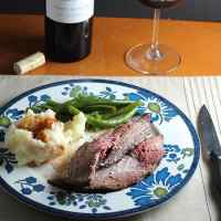 Spoon Roast with Horseradish Cream