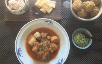 世界の料理オンラインレッスン第一回の料理