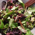 Spring Greens with Roasted Beets and Blood Oranges