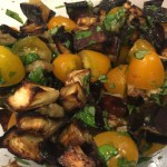 Roasted Eggplant with Tomatoes and Basil - CookingCoOp.com