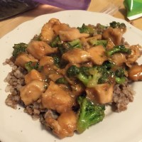 Chinese Chicken & Broccoli
