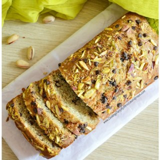 Pistachios, Nuts & Chocochip Loaf