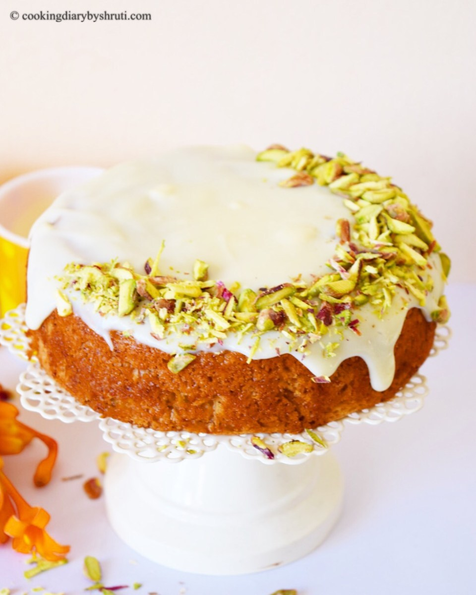 Carrot Cake with White Chocolate Ganache