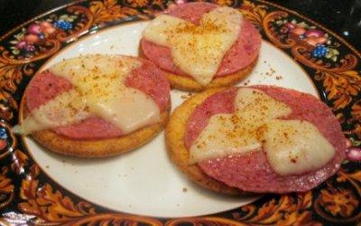 Salami & Provolone Snack
