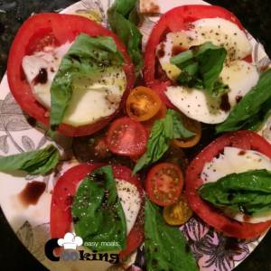 Caprese Salad | Cooking Easy Meals