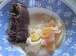 Halaya & buko/coconut salad