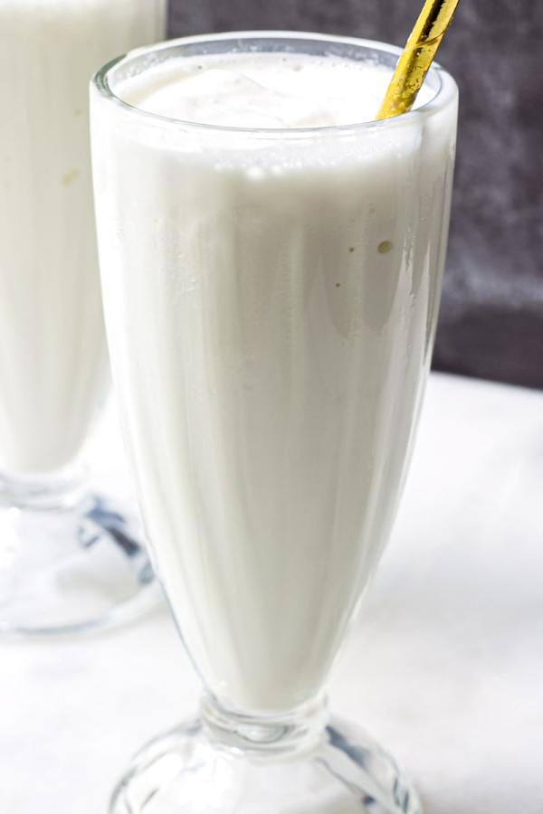 Vanilla Ice Cream Shakes at Home