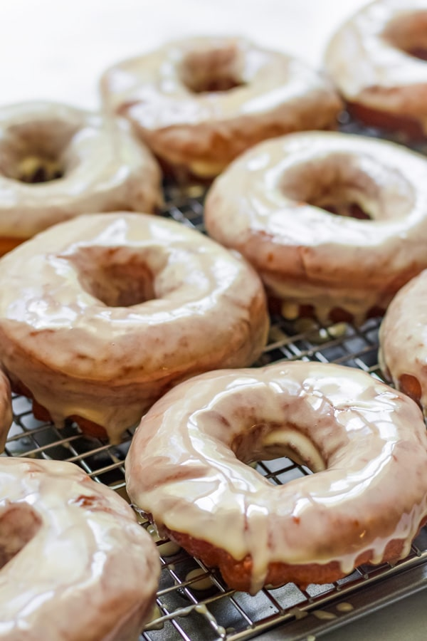 Homemade Maple Donuts Glaze