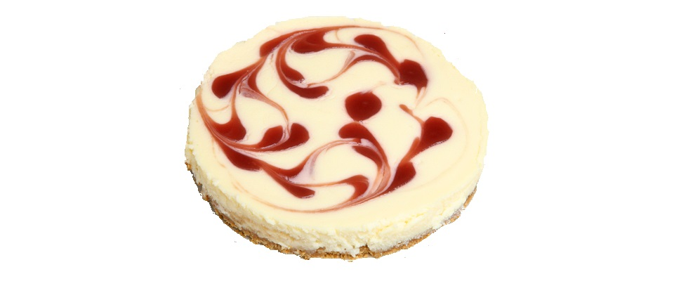 Easy Swirled Strawberry Cheesecake Recipe
