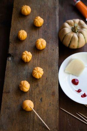 Haloween squash and almond cake-1-2