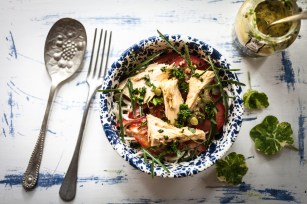 Tuna salad with salsa verde-5