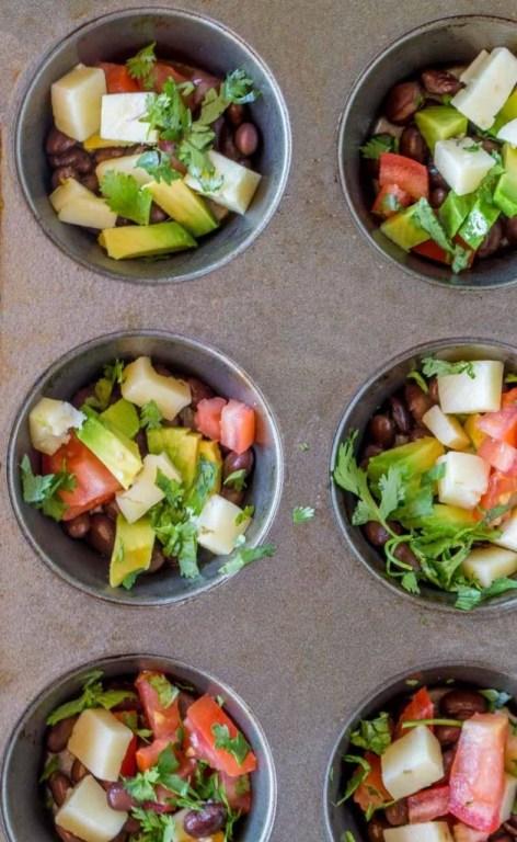Southwestern Egg Muffins Recipe Ingredients