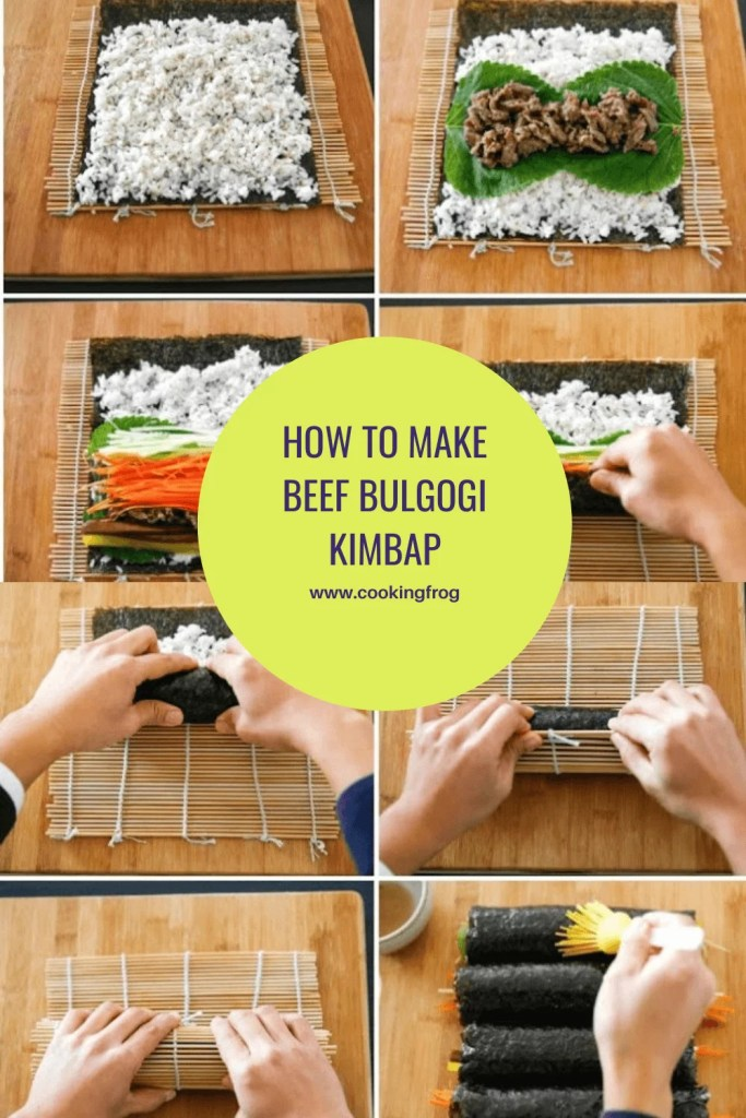 How to Make Beef Bulgogi Kimbap
