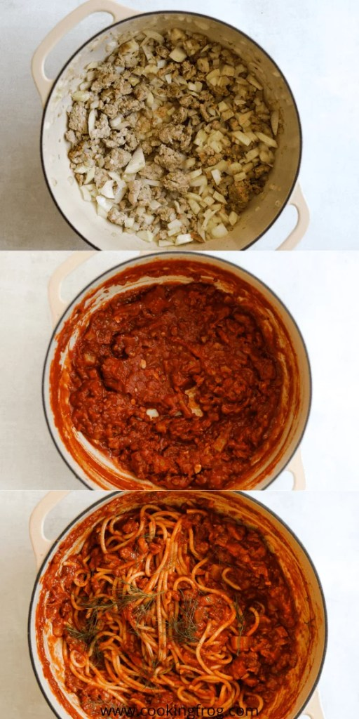 How to make Pork and Fennel Spaghetti Bolognese